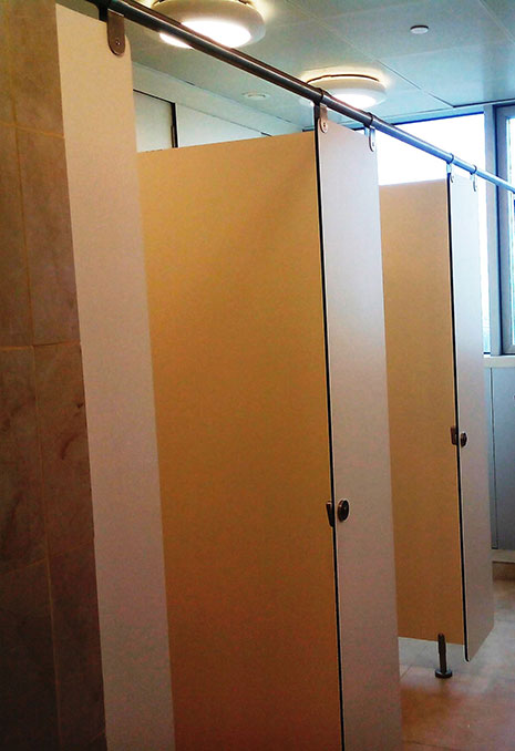 wet cubicle system